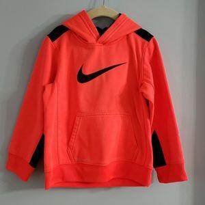 Nike toddler hoodie size 6 orange